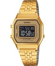 Casio LA680WEGA-9BER Colección de oro clásico reloj plateado