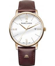 Maurice Lacroix EL1118-PVP01-112-1 Mens Eliros reloj de la correa de cuero marrón