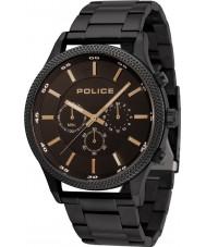 Police 15002JSB-02M Mens reloj de ritmo