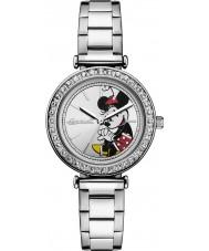Disney by Ingersoll ID00305 Señoras de unión de acero de plata reloj pulsera
