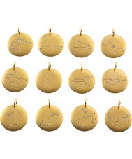 Edblad 31630145-K-SAGITT Charmentity sagitario Matt Chapado en oro del zodiaco