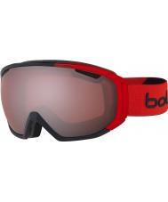 Bolle 21446 gafas de esquí arma vermillon - zar rojo mate