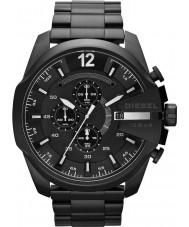 Diesel DZ4283 Mega jefe de reloj cronógrafo para hombre negro ip