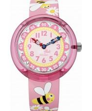 Flik Flak FBNP098 Las niñas daisy bee watch