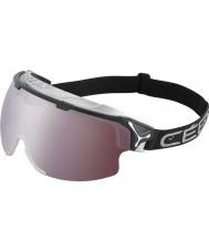 Cebe CBG80 acantilado negro - color amarillo claro - oscuro se levantó las gafas de esquí espejo de flash