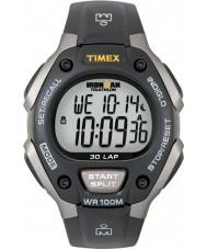 Timex T5E901 Negro ironman reloj deportivo de tamaño completo de 30 vueltas