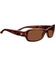 Serengeti Chloe burbuja brillante concha polarizado gafas de sol de los conductores