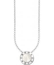 Thomas Sabo KE1492-029-14-L45v Señoras de plata de la firma clásico collar con nacarado