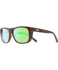 Revo lukee Re1020 oscuro concha - gafas de sol verdes agua polarizada