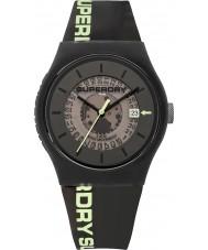 Superdry SYG168B Para hombre semi urbana reloj opaca