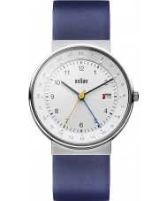 Braun BN0142WHBLG Reloj para hombre blanco azul