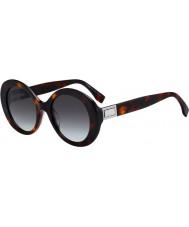 Fendi Ladies ff0293 s 086 ib 52 gafas de sol