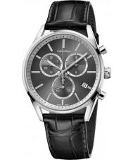 Calvin Klein K4M271C3 reloj cronógrafo negro formalidad para hombre