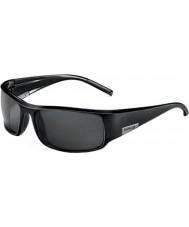 Bolle King gafas de sol brillante negro tns