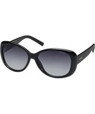 Polaroid brillantes gafas de sol polarizadas negro D28 Pld4014-s wj
