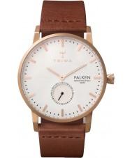Triwa FAST101-CL010214 Rose reloj de la correa de cuero marrón Falken