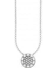 Thomas Sabo KE1493-051-14-L45v Señoras de plata de la firma clásica zirconia collar de extendido