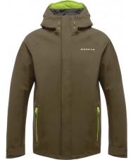 Dare2b DMW371-3C435-XXS ii disposición para hombre de la chaqueta de camuflaje cáscara impermeable verde - tamaño XXS
