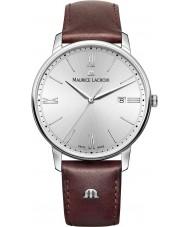 Maurice Lacroix EL1118-SS001-110-1 Mens Eliros reloj de la correa de cuero marrón