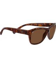Serengeti Gabriella brillante concha roja polarizado gafas de sol de los conductores