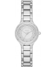 DKNY NY2391 cámaras de señoras de acero de plata reloj pulsera