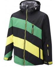 Surfanic SW121003-401-XL Mens chevy chaqueta verde negro - tamaño de xl