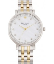 Kate Spade New York 1YRU0823 Señoras de Monterrey reloj de plata brazalete de acero