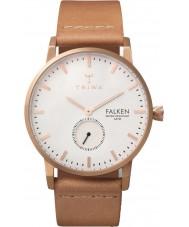 Triwa FAST101-CL010614 Rose plateado Falken reloj correa de piel desnuda