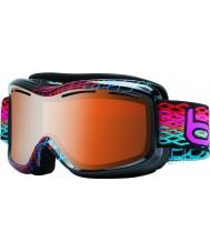 Bolle 20938 Monarch diamante negro - gafas de esquí arma cítricos modulador