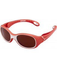 Cebe S-Kimo (edad 1-3) gafas de sol rojas de melanina 2000