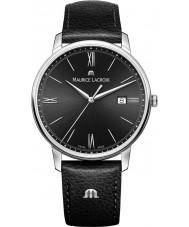 Maurice Lacroix EL1118-SS001-310-1 Mens Eliros reloj de la correa de cuero negro