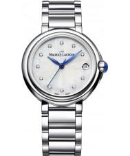 Maurice Lacroix FA1004-SS002-170-1 Damas fiaba reloj de pulsera de acero de plata