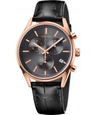Calvin Klein K4M276C3 reloj cronógrafo negro formalidad para hombre