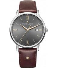 Maurice Lacroix EL1118-SS001-311-1 Mens Eliros reloj de la correa de cuero marrón