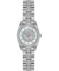 Bulova 96L253 Ladies reloj de cristal