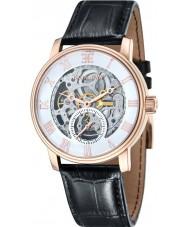 Thomas Earnshaw ES-8041-03 Mens westminster reloj de la correa de piel de cocodrilo negro