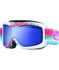 Bolle 20940 Monarch diamante blanco - gafas de esquí azul aurora