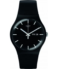 Swatch SUOB720 New Gent - reloj negro mono