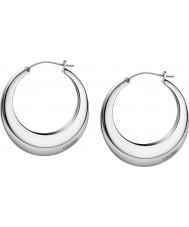 Calvin Klein KJ3DME080100 Damas respiran pendientes de plata de acero pulido