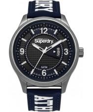 Superdry SYG171UW Mens Yokohama reloj deportivo