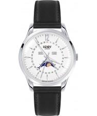 Henry London HL39-LS-0083 reloj negro blanco Edgware