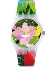 Swatch SUOK132 Reloj de jardín tropical para mujer