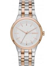DKNY NY2464 parque de las señoras de la pendiente del reloj pulsera de acero de dos tonos