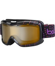 Bolle 21062 Monarch granos rosados negros - gafas de esquí modulador cítricos arma