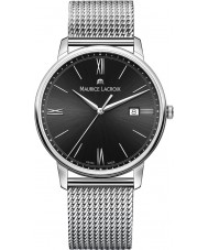 Maurice Lacroix EL1118-SS002-310-1 Mens Eliros reloj de plata brazalete de acero