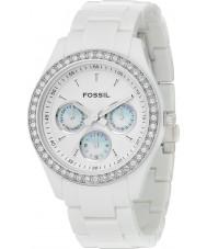 Fossil ES1967 Señoras stella Todo el reloj blanco