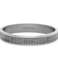 Dyrberg Kern 333827 Las señoras de plata del brazalete plateado i heli