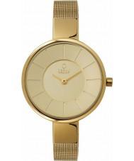 Obaku V149LXGGMG Las señoras Todo el reloj pulsera de malla de oro