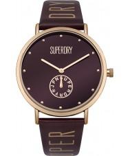 Superdry SYL175RRG reloj de señoras de Oxford