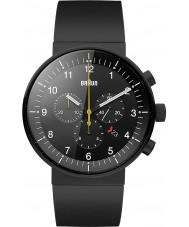 Braun BN0095BKBKBKG Para hombre de prestigio reloj cronógrafo negro